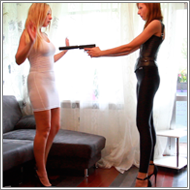Two Parts Gunfight - Marta vs Olga - HD