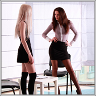 Office Battle - Lexxi vs Alice