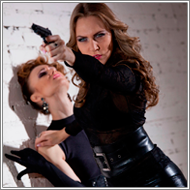 Two Spies in Action - Blanca and Renee