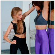 Domination Fight - Elena vs Darcy -