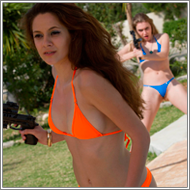 Bikini Shootout - Blanca, Lexxi and Renee