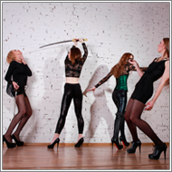 Rapiers vs Swords Part II – Elena, Daisy Vs Renee, Jillian