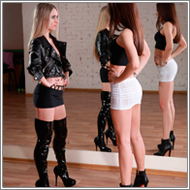 Newcomers Catfight – Sabrina vs Amelie