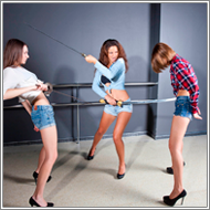Sword vs Rapiers – Lexxi vs Elena, Fiona