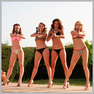 Bikini Shootouts Part II – Blanca, Lexxi, Renee, Laura