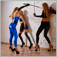 Swords vs rapiers – Darcy vs Jillian and Vera