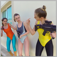 Mission failed – Blanca, Lexxi, Renee vs Marta – HD