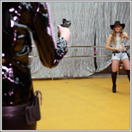 Fantasy cowgirl gunfight – Renee vs Jillian – HD