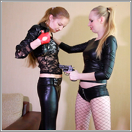 Russian Roulette – Emily vs Nastja – HD
