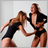 Catfighting  Models – Sabrina vs Darcy