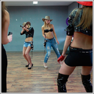2-on-2 cowgirl duel – Stella, Lexxi vs Irene, Laura – HD