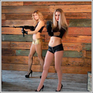 Prolonged Toygun Shooting – Laura and Amelia – HD