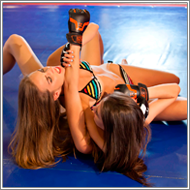 Bikini NHB fight in ring – Danni vs Fiona
