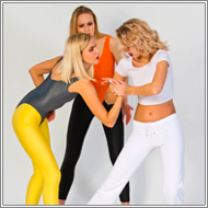Self-defense workout – Elena vs Maya, Blanca