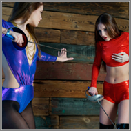 Fencing Duel – Tess vs Jillian