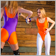 Fencing Duel – Maya vs Jillian