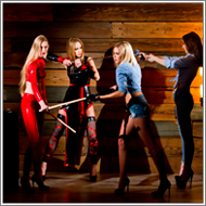 Cowgirls vs Ninjas – Lisa, Maya vs Blanca, Renee
