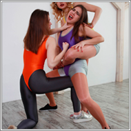 Destroying Sabrina – Renee and Laura vs Sabrina