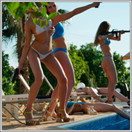 Bikini Defending with Maya, Renee, Sabrina, Tess and Jillian