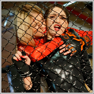 Cage fight – Fiona vs Vera