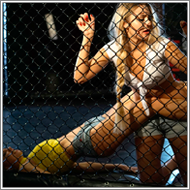 Cage fight III – Jillian vs Ellen
