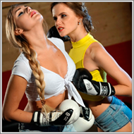Boxing match – Jillian vs Ellen