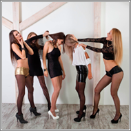 5 girls catfight – Fiona, Jillian, Claire, Amelie, Sabrina