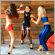 Ninja Power – Renee vs Lexxi, Blanca – HD