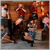 6 cowgirls shootout – Irene, Laura, Jillian, Claire, Vera, Sabrina – HD