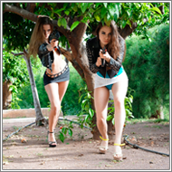 Two agents under arrow attacks – Jillian and Sabrina