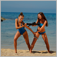 Fight between Spies – Jillian vs Tess