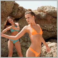 Bikini spies fight – Jillian vs Tess