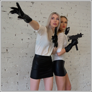 Prolonged Toygun Shooting – Vera and Maya – HD