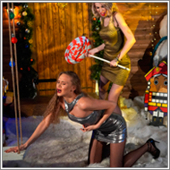 Catfight over Gift – Vera vs Maya