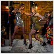 Sword Fight in dresses – Maya vs Vera