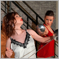 Fencing Duel – Alisha vs Jillian