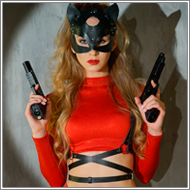 Latex, Leather and Guns - 425 Images