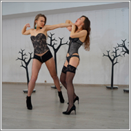 Lingerie Catfight – Maya vs Renee